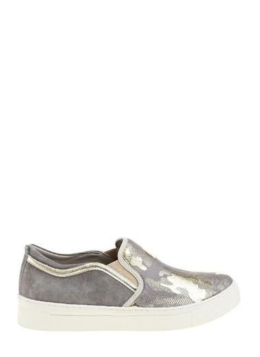 Divarese Bağcıksız Sneakers Ayakkabı Vizon